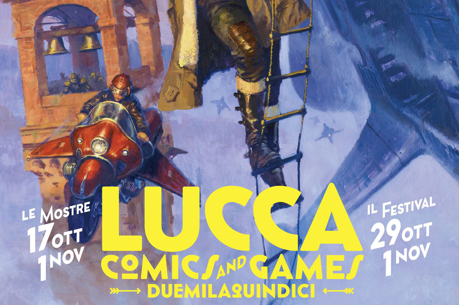 Lucca Comix & Games 2015