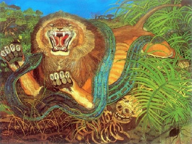 Il Re della foresta, Antonio LIgabue
