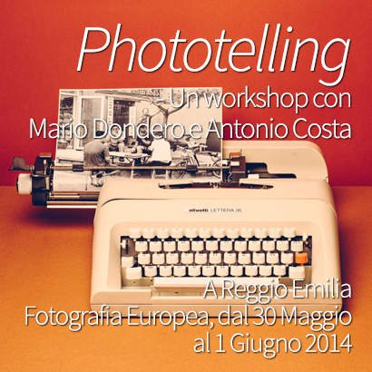 Phototelling Fotografia Storytelling Workshop Mario Dondero Antonio Costa