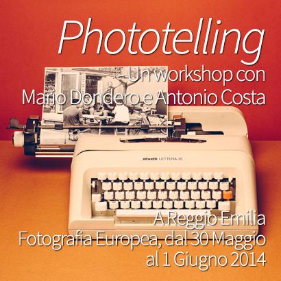 Phototelling Fotografia Storytelling Workshop Mario Dondero Antonio Costa