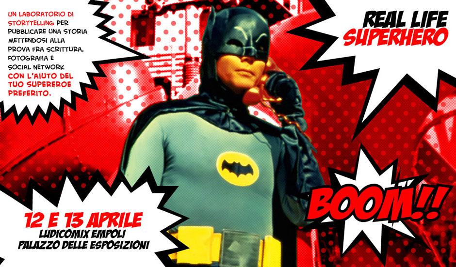 Ludicomix 2014 Real Life Superhero