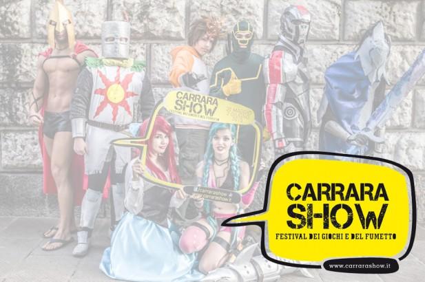 Carrara Show – Festival dei Giochi e del Fumetto